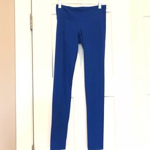 ⚜️ Under Armour blue ruched leggings XS